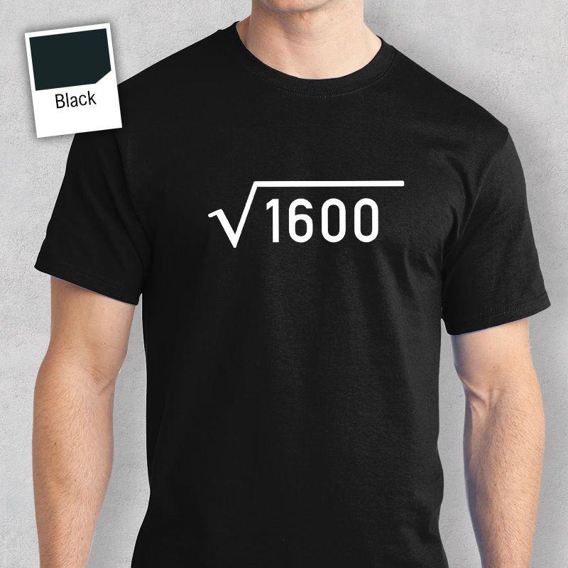 40th Birthday Gift Present Idea For Boys Dad Him 1977 Men T Shirt Tee Shirts 40 Hot 2017 Summer MenS Fashion Printed Design From