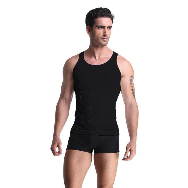 bb952c5fc0ed9 2019 S 2xl Men  S Slimming Vest Body Shaper Tank Top Classic Undershirt  Tight T Shirt Abdomen Shapewear Tummy Waist Lost Weight N Life From  Wangyicom