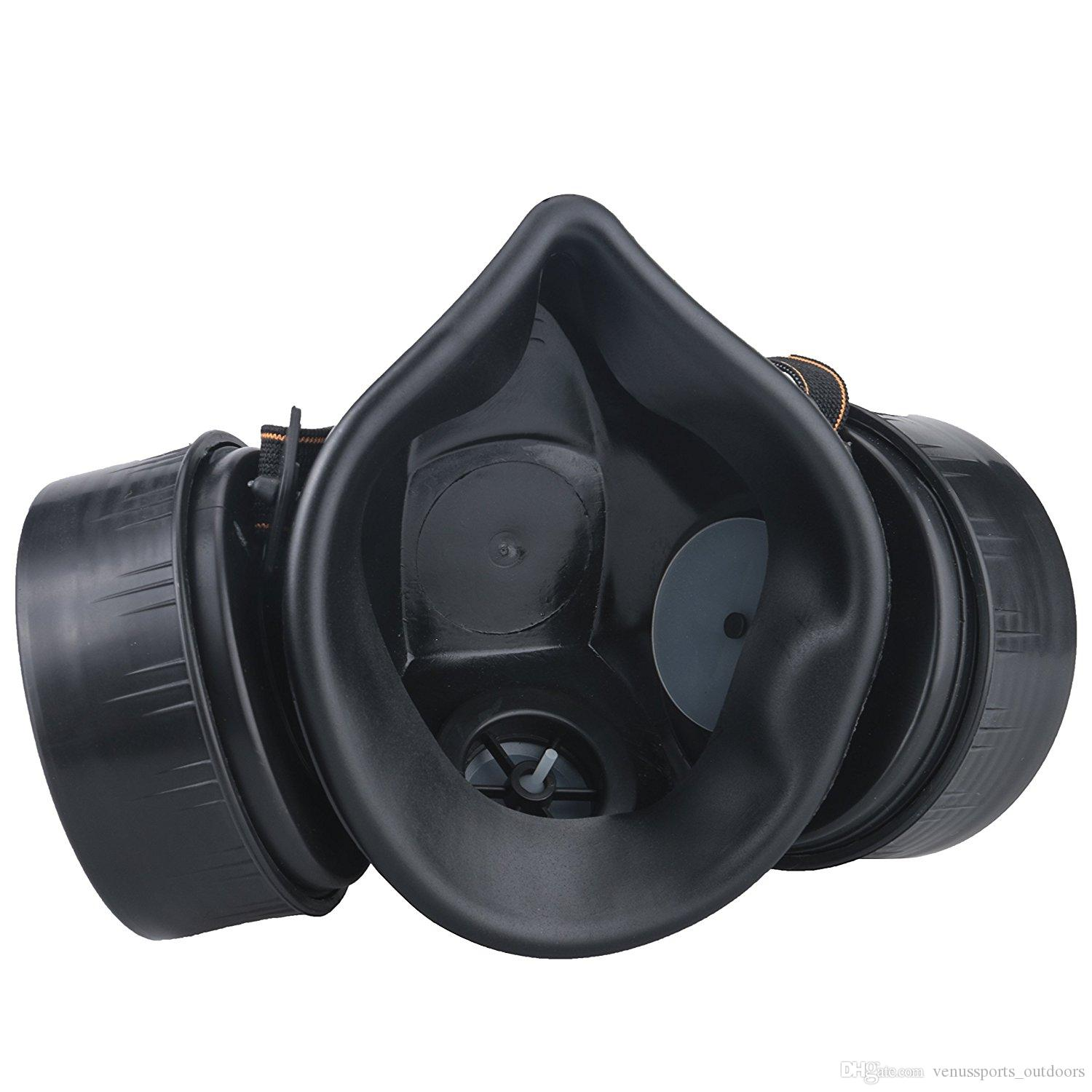 Sporting Goods Anti-Dust Paint Respirator Mask Safety Goggles Gas Mask Industrial Chemical Gas Mask Hot sale