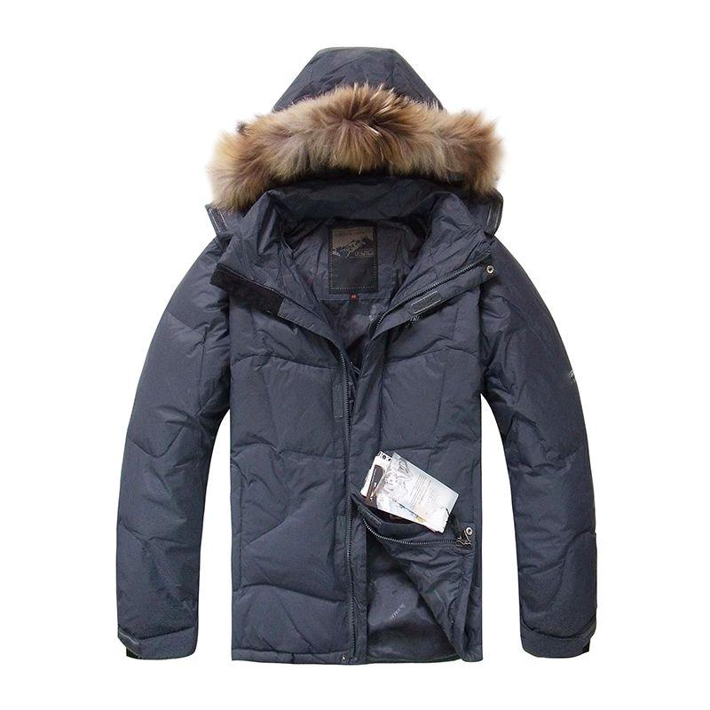 Großhandel 2018 Neue Ankunft Männer Ente Daunenjacke Winter Warme  Daunenmantel Waschbärpelz Mit Kapuze Mode Jacken Outwear Mäntel Männer  Kleidung Von ... d9e6f713bc