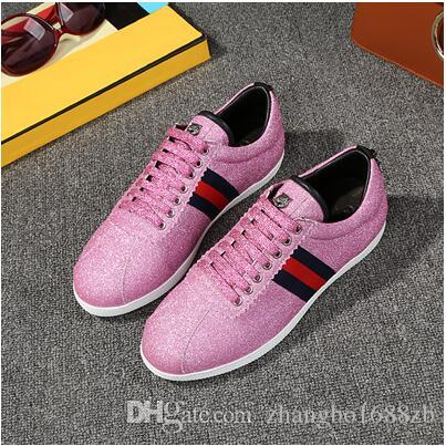 European new casual shoes rivets flat foreign trade shoes lace sequins Korean fashion outlet wide range of official site shop offer clearance 100% original BalZURroP
