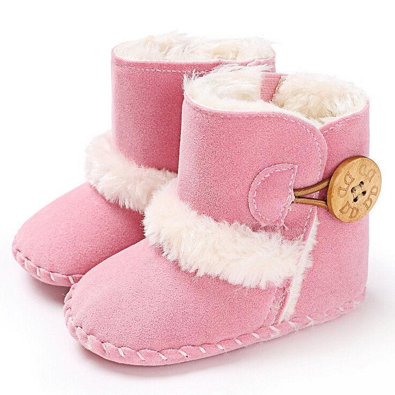8cc5f3041d4cb2 Acquista Baby Soft Crib Sole Stivali Da Neve Caldi Toddler Newborn Grils  Boys Scarpe Antiscivolo Black White Pink A $42.62 Dal Paradise13 |  DHgate.Com