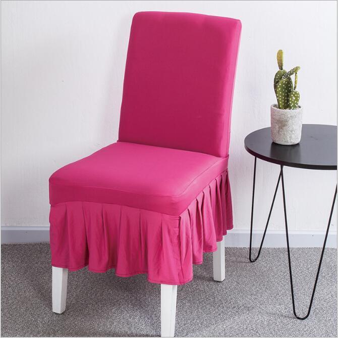Compre fundas para sillas de hotel taburetes fundas sillas de comedor sillas mangas cuerpo - Fundas asiento sillas comedor ...