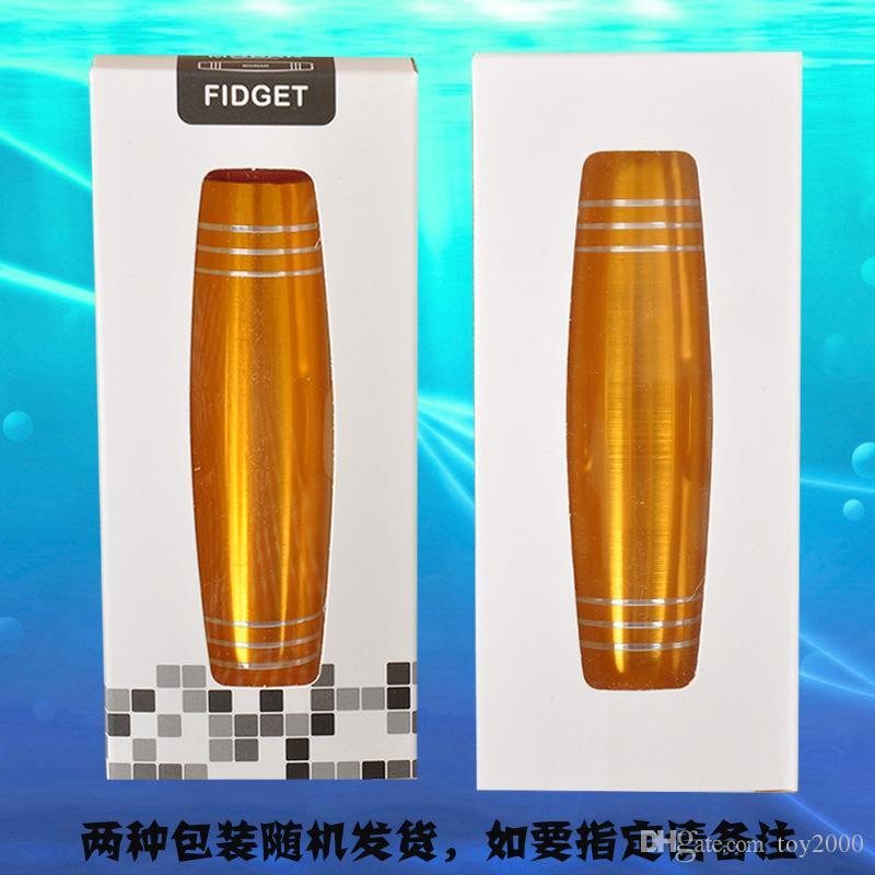 Alüminyum alaşım Fidget Rollver fidget oyuncaklar Mokuru Yenilik Gag Oyuncaklar Dekompresyon Toy2.6 * 2.6 * 9.5 cm kaliteli popüler oyuncaklar