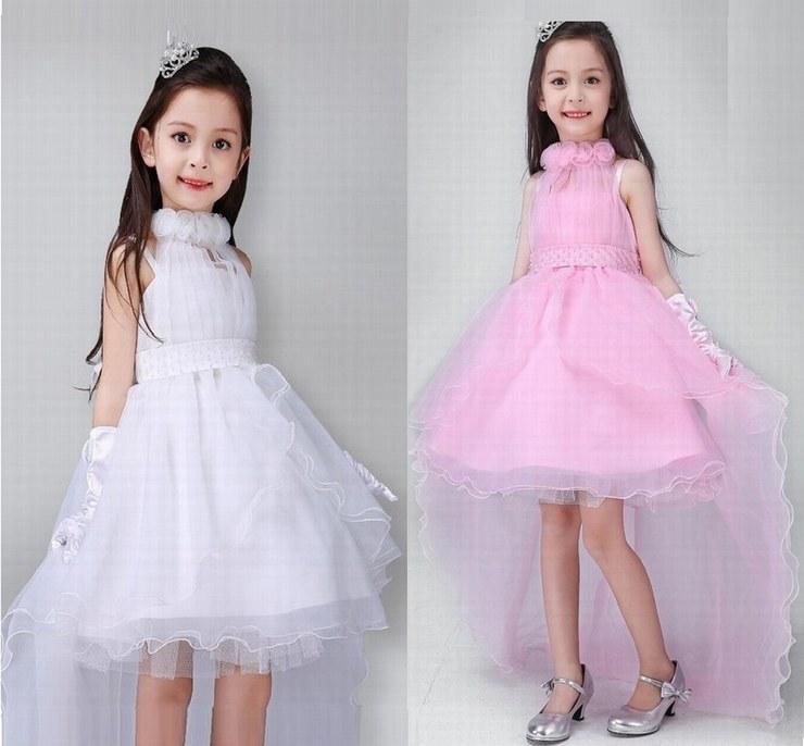 Compre Encanto Pincess Vestidos De Niña De Las Flores Vestido De ...