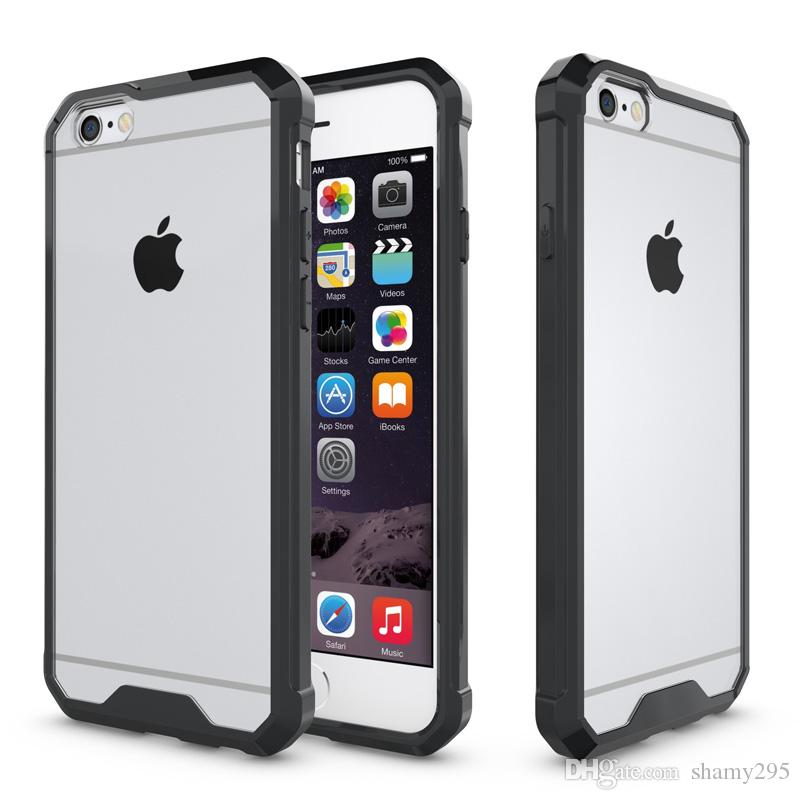 free shippingfor apple iphone 6s case iphone 6 case transparent antifree shippingfor apple iphone 6s case iphone 6 case transparent anti shock armour tpu case acrylic anti scratch cover business style 2018 western cell phone