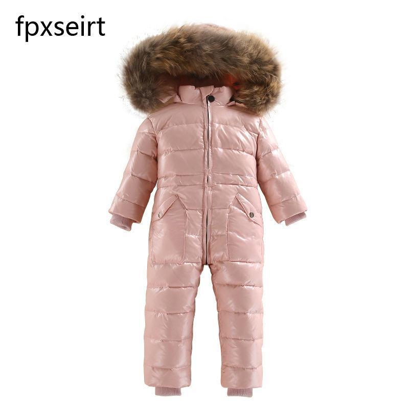 Compre Nuevo 2018 Rusia Ropa De Invierno Para Niños Chaqueta Impermeable Y Cálida  Para Niños 06d07167f125