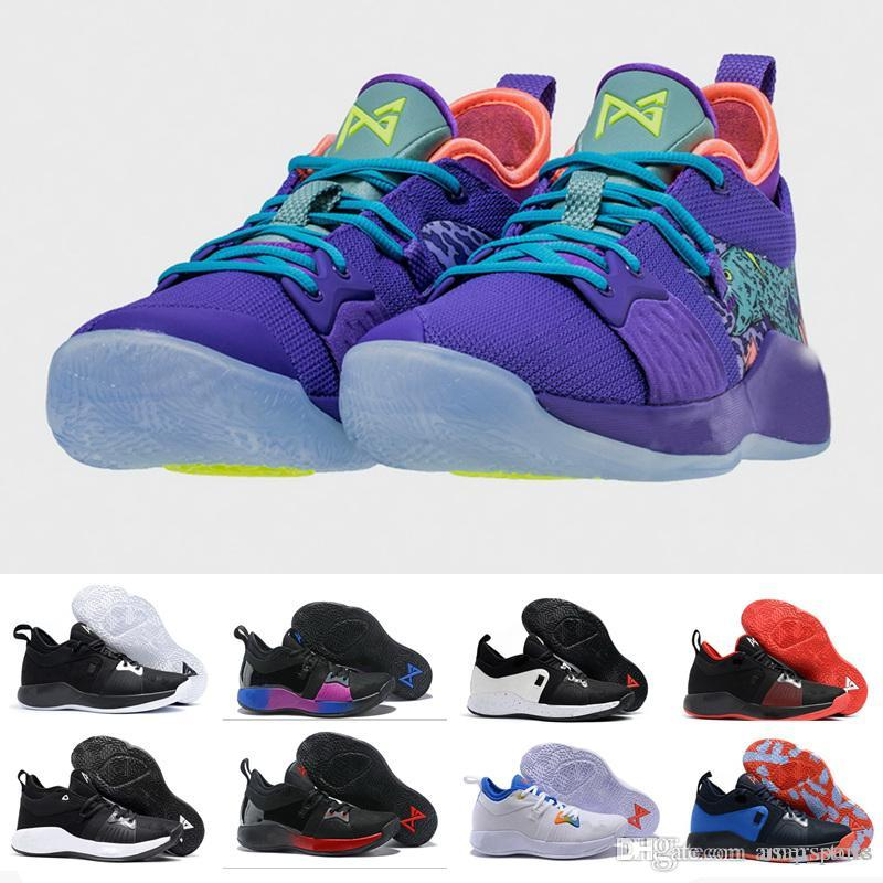 ef560e1256f New Arrival Paul George 2 Basketball Shoes For Hig Quality PG2 PS4 Playstation  Black BLue Red White PG 2s Sports Sneakers Size 40 46 Cheap Basketball  Shoes ...