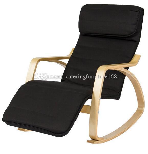 sedia bassa a dondolo / sedia a dondolo usata bassa del legno di prezzi  bassi