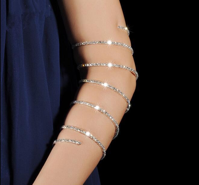 Belly Dance Jewelry Bracelet Bracelet Specials Indian Dance Performance Accessories Bracelet New Jewelry 10 Circles Women's Arm Warmers