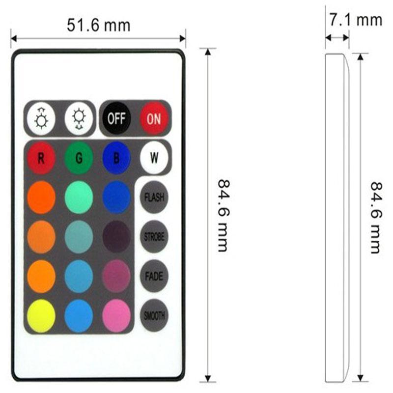 SMD 3528 5 M 10 M 15 M 300led RGB led bande lumineuse éclairage extérieur étanche multicolore bande ruban 24keys DC12V adaptateur ensemble