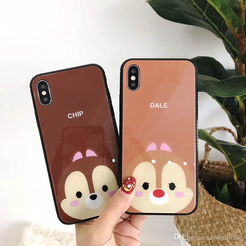 Fashion Cartoon Squirrel Phone Case For Iphone X 8 Plus Back Cover Case For Iphone 6s Protect Shell Customized Phone Cases Cute Phone Cases From Waxinlace 2 67 Dhgate Com