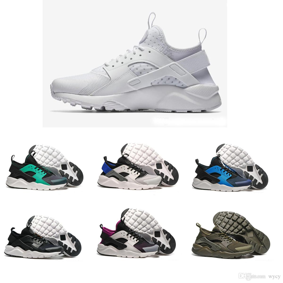 f0b45323c48 2018 New Colors Huaraches 4 IV Casual Shoes For Men   Women