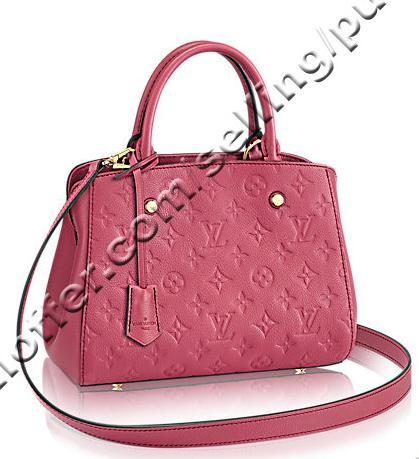 314662b3a7 Bb M43730 Emprente Leather Rose Bruyere Pink Women Handbags Shoulder  Messenger Bags Totes Iconic Cross Body Bags Top Handles