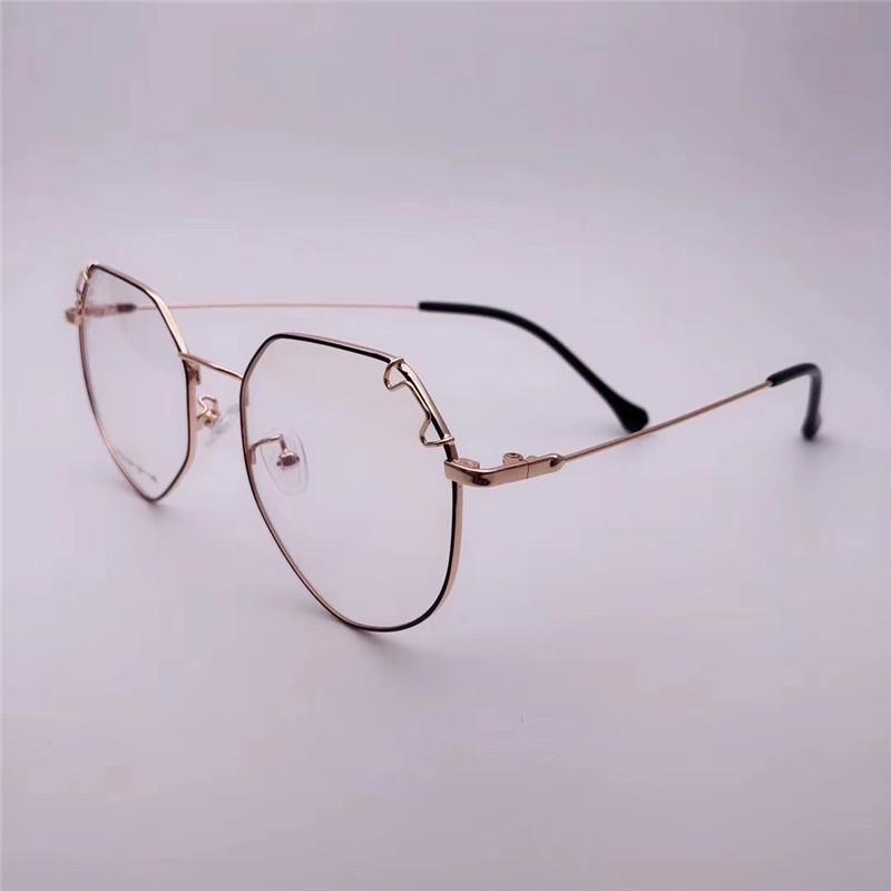 195eea0b63 Compre Marcos De Vidrios Para Marcos Metálicos Para Gafas Lentes  Transparentes Para Espectáculos Lentes Ópticas Transparentes Para  Mujeres17133 A $39.38 Del ...