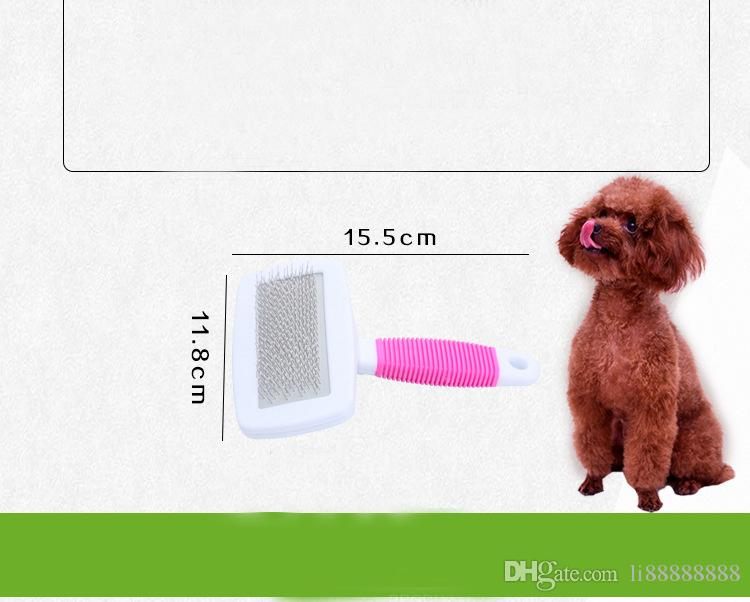 Free DHL instock Pet Brush for Dog and Cat deShedding Tool Grooming Long Hair Short Hair for Dog Cat