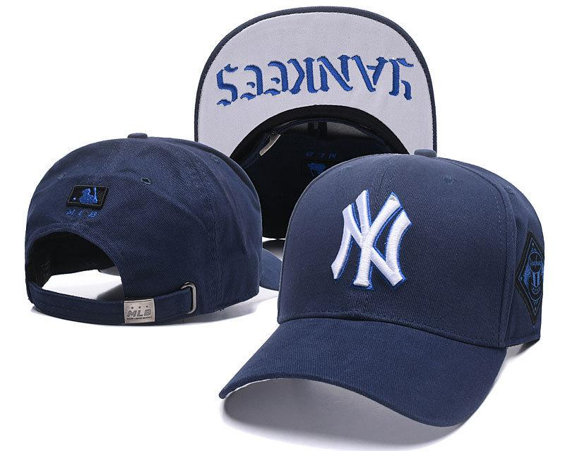 2018 Top Sale NY Baseball Fitted Hats Mens Sport Hip Hop Fitted Caps ... 2cd20ed0c