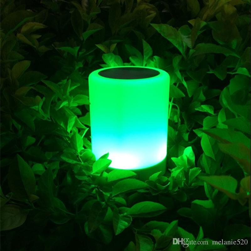 Smart Lamp with Speaker Night Light Bluetooth Speakers Portable Wireless Music Speaker Smart Touch Control Color LED Bedside Table Lamp