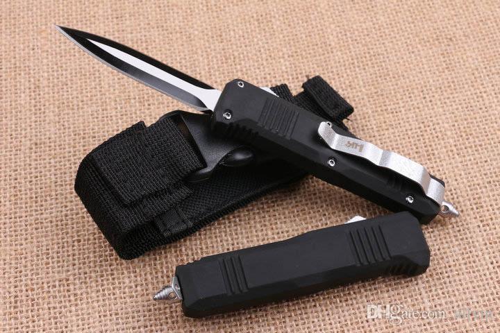 Специальное предложение Butterfly C07 AUTO Тактический нож 440C 58HRC Черный клинок EDC Карманный нож Рождественский подарок