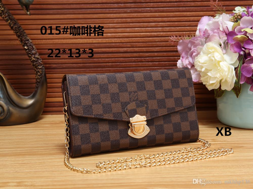 2018 New Style Women Bag PU Leather Top Quality Luxury Brand ... 3d57437f5420d