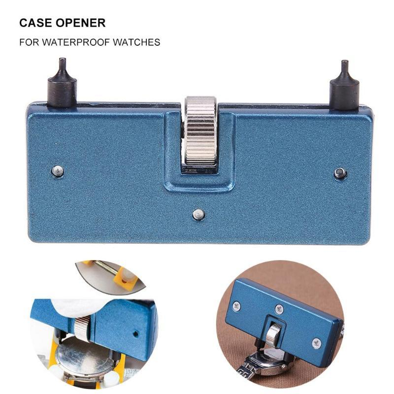 Watches Watch Repair Tool Kit Watchmaker Back Case Opener Wrench Cover Remover Adjustable Watch Back Case Wrench Opener Repair Screw