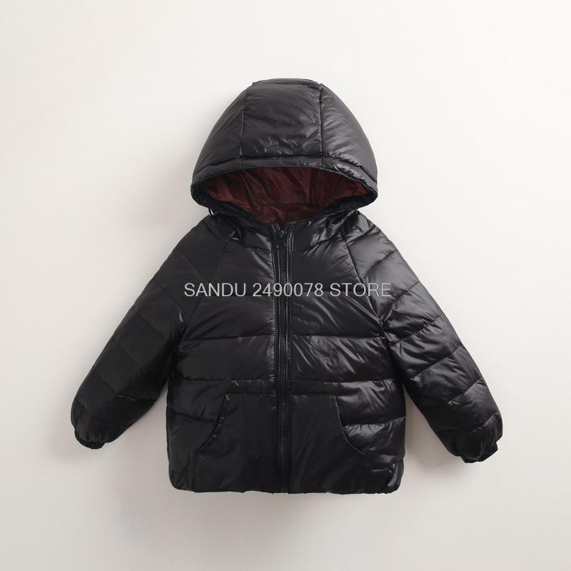 895ba7686 Children S Winter Jackets Down Jacket For Girl Autumn Warm Hooded ...