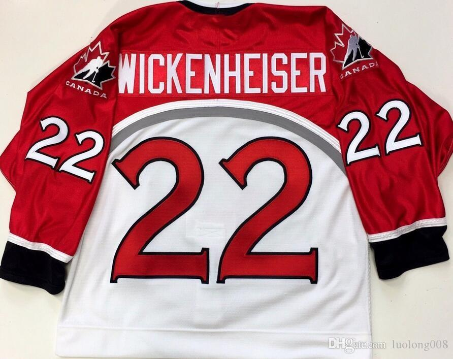 HAYLEY WICKENHEISER 2002 SALT LAKE OLYMPICS TEAM Hockey Jersey Embroidery  Stitched Customize any number and name Jerseys