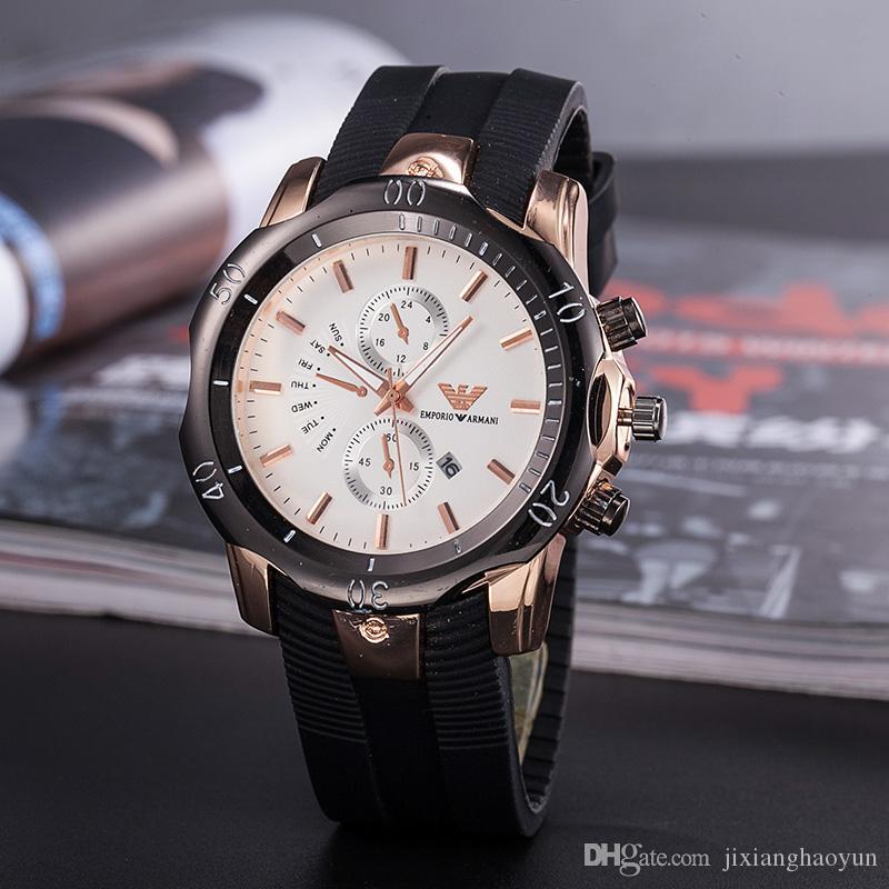 5ecbe9257aba Compre TOP Moda De Acero Inoxidable Hombre De Cuarzo Reloj De Cuero Reloj  De Movimiento De Japón Relojes De Pulsera Vida Impermeable Marca Reloj  Masculino ...