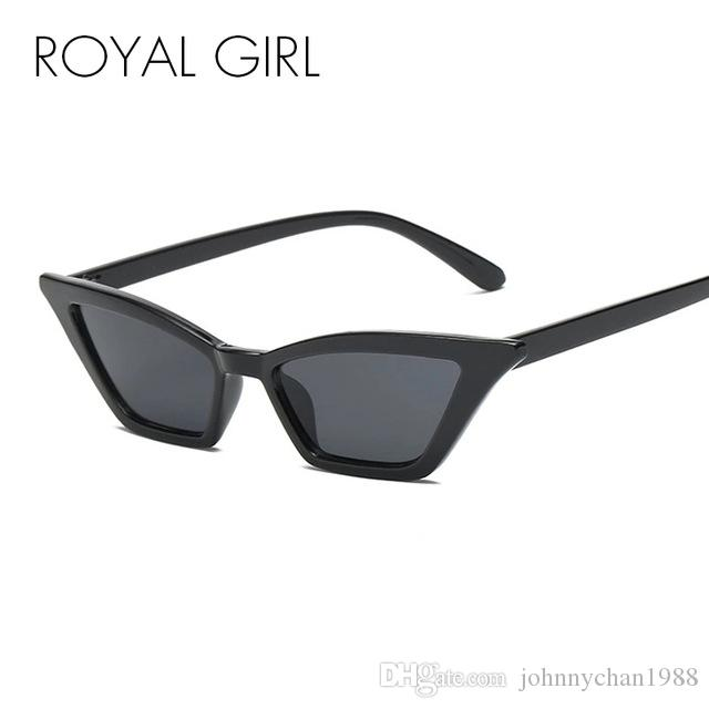 Compre MENINA REAL Do Vintage Pequeno Óculos De Sol Das Mulheres 2018 Retro  Olho De Gato Preto Vermelho Quadro Óculos De Sol Para As Mulheres Óculos  Oculos ... fe4ca7894b