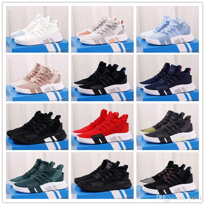 new product 2f60e 31321 2018 Hot EQT Support BASK Women Men Running Sport Shoes for High quality  Knit Champagne Pink Casual Trainers Fashion Designer Sneakers 36-45