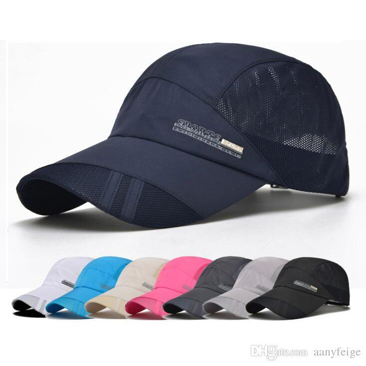 818c35cea77 Summer Unisex Sports Baseball Cap - Mens Womens Casual Breathable ...