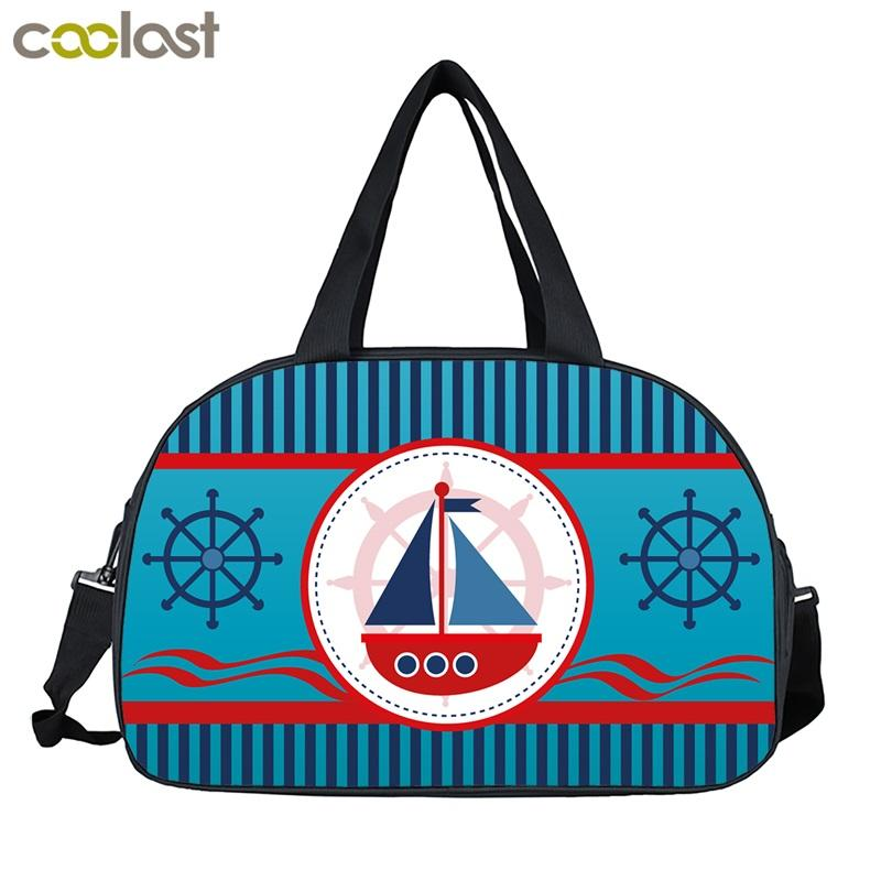040a262cb7 Large Men Women Travel Bags Compass Anchor Carry On Luggage Duffle Bags  Valise Weenkend Bag Ladies Handbag For Suit Foldable Personalized Suitcase  Suitcase ...