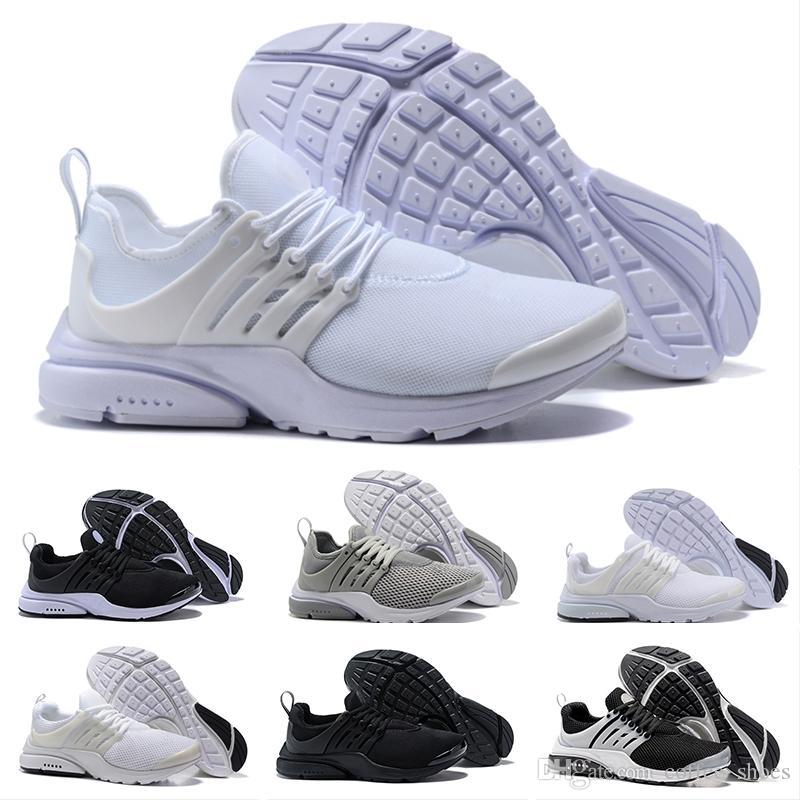separation shoes 0ee37 a2b23 Acquista Nike Air Presto Ultra Low Running Shoes I Più Nuovi PRESTO BR QS  Triple Nero Bianco Giallo Rosso Uomo Donna Scarpe Da Corsa Walking Designer  ...