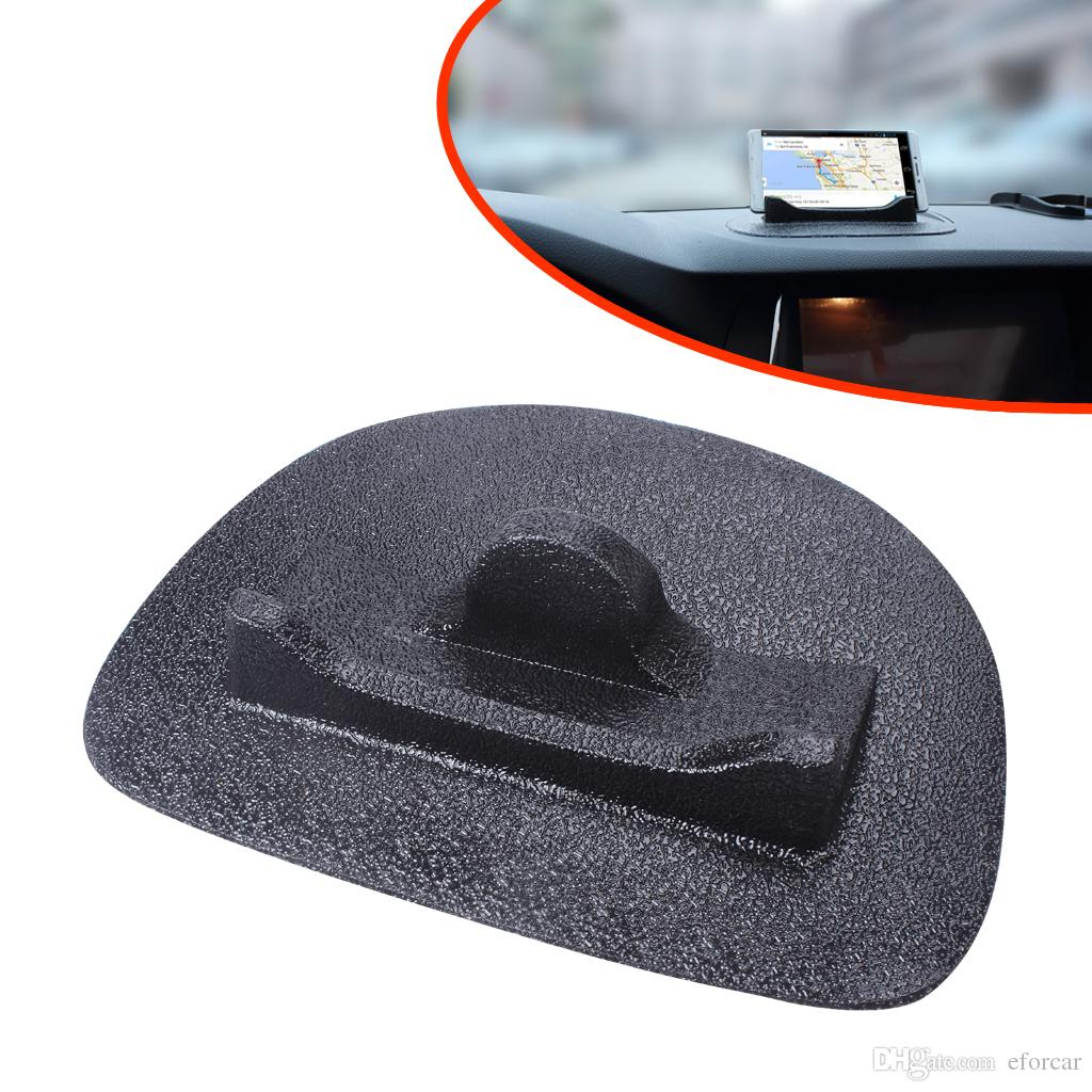 Black Silicone Anti-slip Mats for Car Vehicle Phone GPS Holder Stand Non-slip Mat via EXPRESS