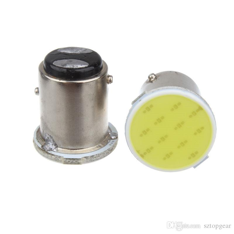 S25 P21W 1156 1157 BA15S BAY15D LED COB 12 SMD Auto Car Signal Bulbs Backup Lights Parking Lamp White Ice Blue DC 12V
