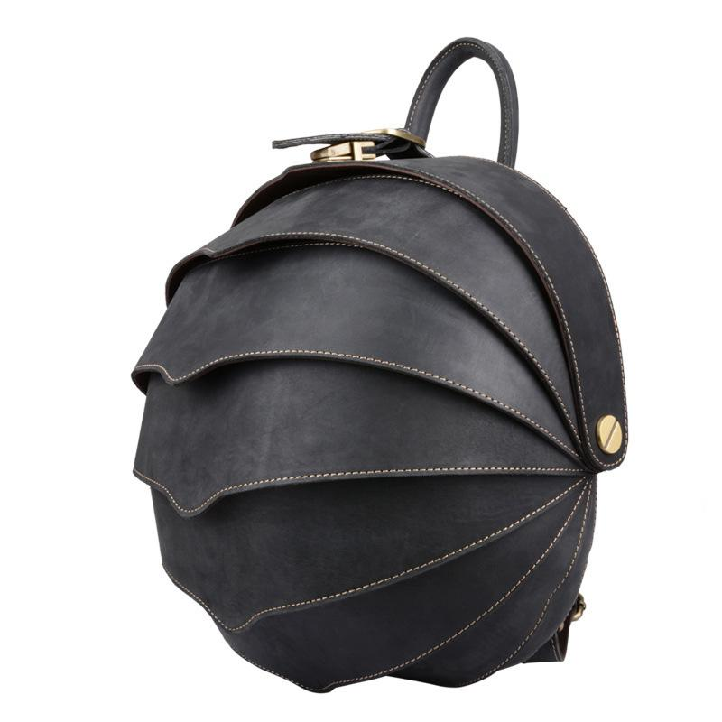 ea1aa24893 New Men Best Backpack Beetle Shape Female Vogue Genuine Leather Custom  School Bag High Quality Durable Bags Designer For Youth Dog Backpack  Backpacks For ...