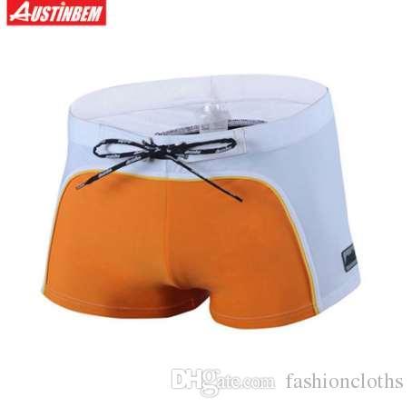 a419c754bb Desmiit Swimwear Men Shorts Light Thin Quick Dry Swimming Shorts for ...