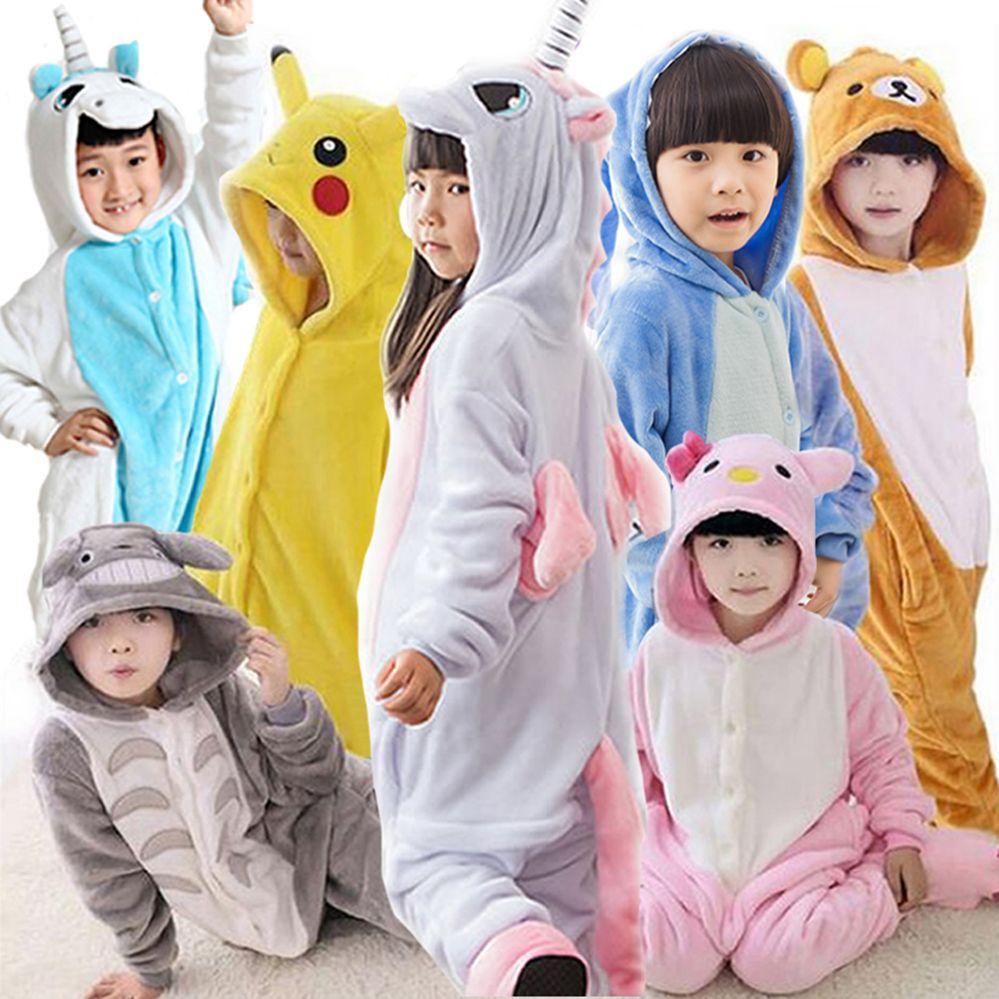 c8ff04ff51a4 Winter Girl Boy Children S Pajamas Baby Onesie Kids Pajama Set ...