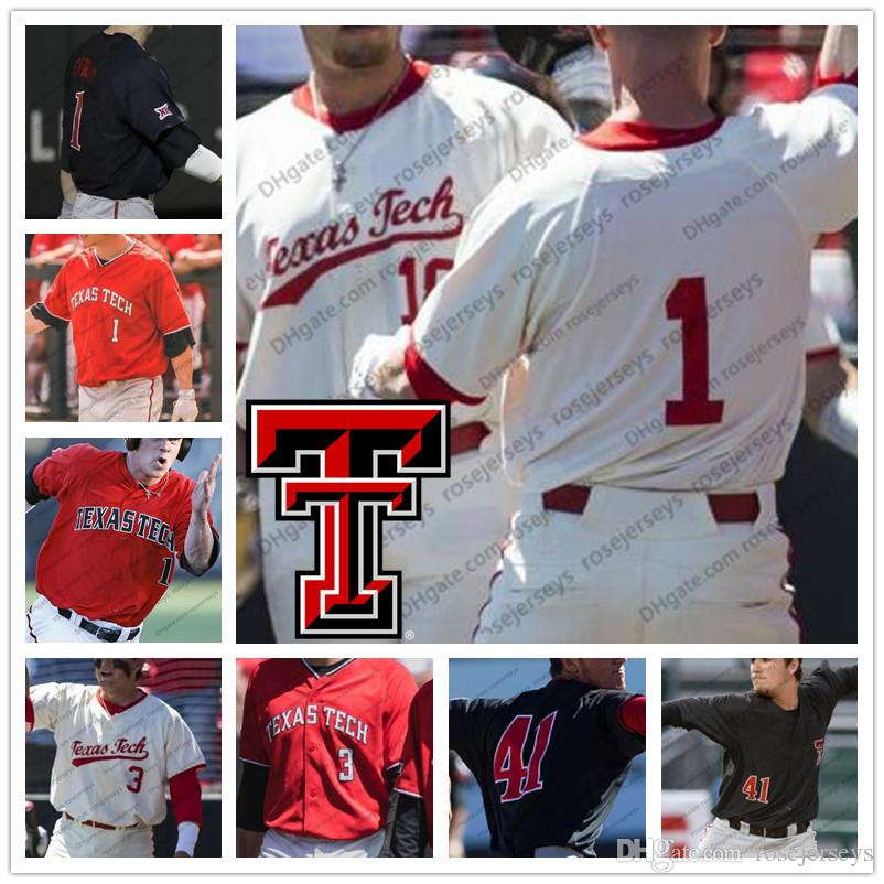 97fcf0bc16e Texas Tech Red Raiders  1 Cody Farhat 3 Michael Davis 28 Ty Harpenau ...