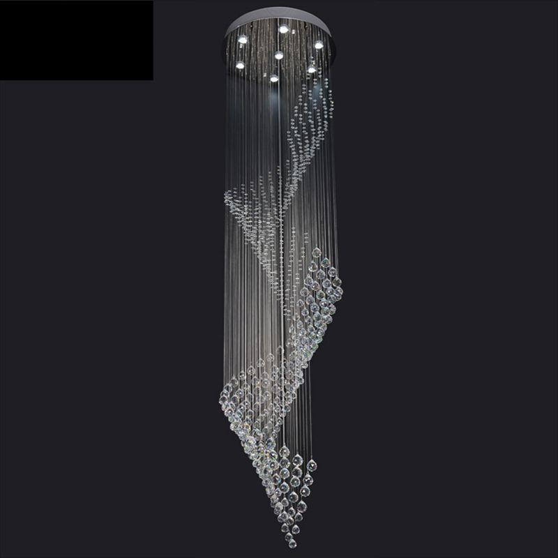Modern crystal chandelier ceiling antler home light fixtures modern crystal chandelier ceiling antler home light fixtures candiles de cristal crystal ceiling led lamps hanging stair lamp foyer chandeliers art deco aloadofball Choice Image