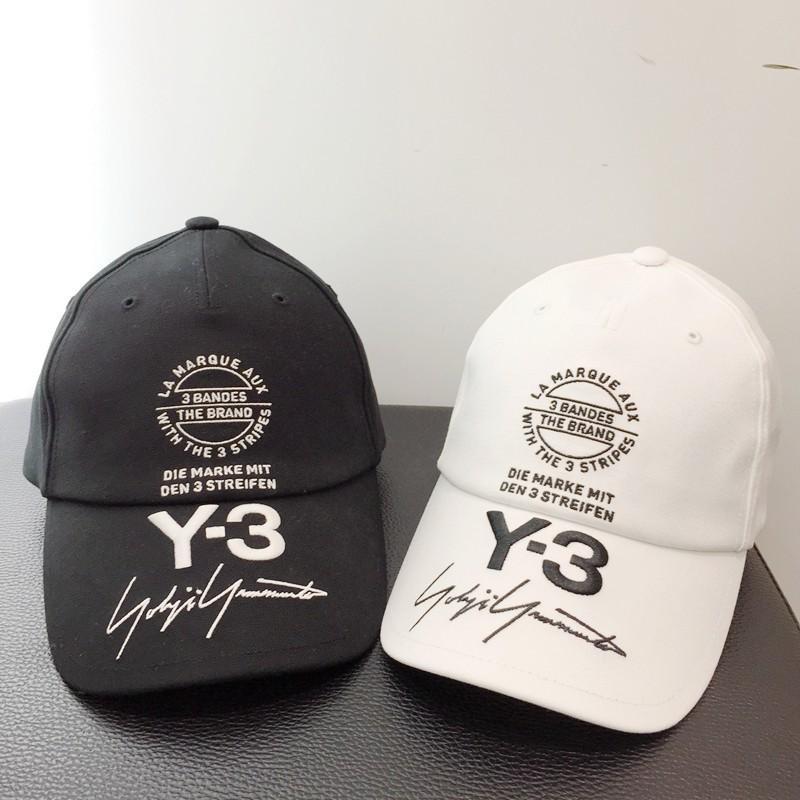 43eae84da61 18SS Fashion Y-3 Letter Logo Embroidery Hat Cap Luxury Street Travel ...