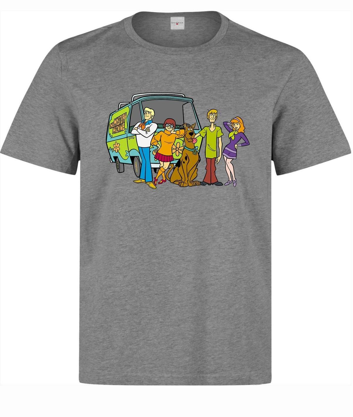 Acquista scooby doo personaggi dei cartoni animati maglietta