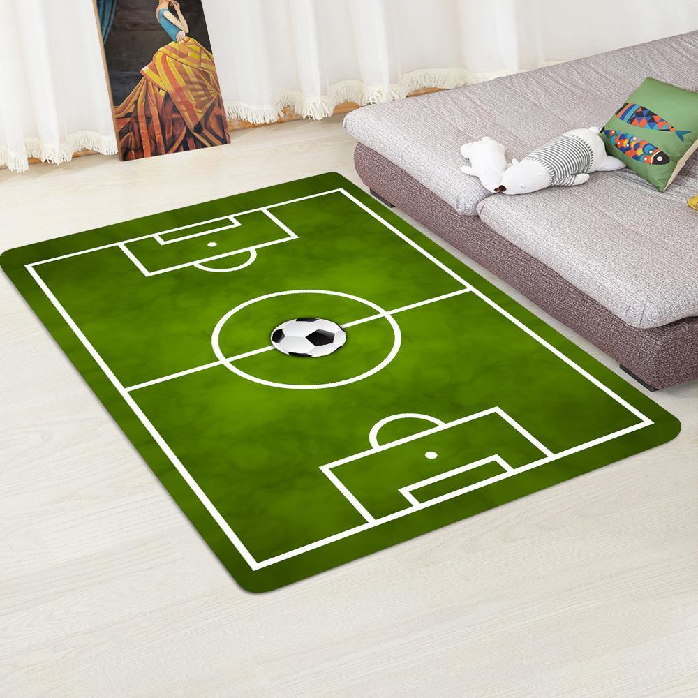 Großhandel Kinder Fußball Fußballplatz Wohnzimmer Teppiche Flach ...