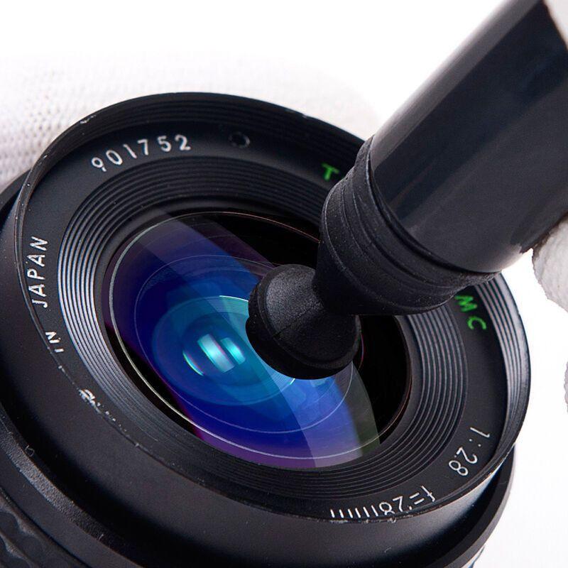 Fotografie-Objektiv-Reinigungs-Feder-Bürste für DSLR SLR Kamera-Objektiv-Bürsten-runde Kreis- oder Quadrat-Filter dhl geben Verschiffen frei
