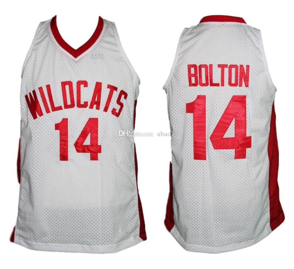 3a88c3e3a 2019 Troy Bolton  14 High School Musical Zac Efron Retro Classics Basketball  Jersey Mens Embroidery Stitched Custom Any Number And Name Jerseys From  Abao20