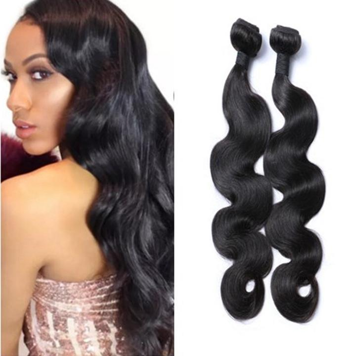 Hot Selling Virgin Body Wave 100 Human Hair Extensions Indian