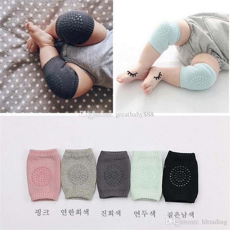Baby Knee Pads Crawling Cartoon Safety Cotton Protector Kids Kneecaps Children Short Kneepad Baby Leg Warmers C2365