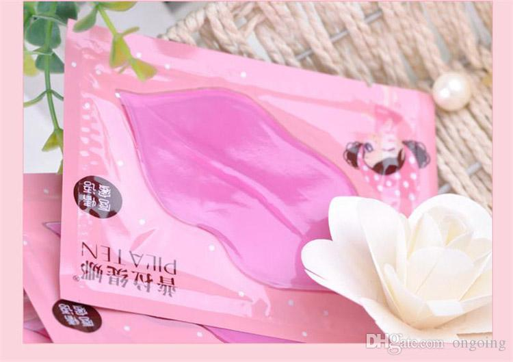 Fashion Sexy PILATEN lip mask Pilaten Authorized Collagen Crystal Lip Mask Anti-wrink Anti-Ageing Membrane Moisture Hydrating Lip Gel