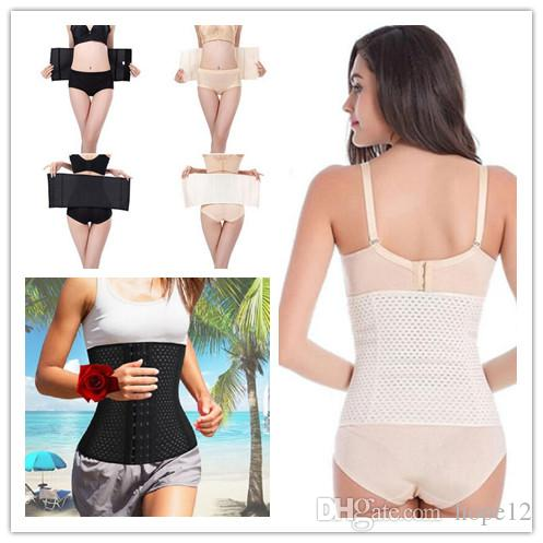 cc50d65279 2019 DHL 8 Sizes Bodysuit Women Waist Trainer Slimming Shapewear Training  Corsets Cincher Body Shaper Bustier BellySlimming Belts From Hope12