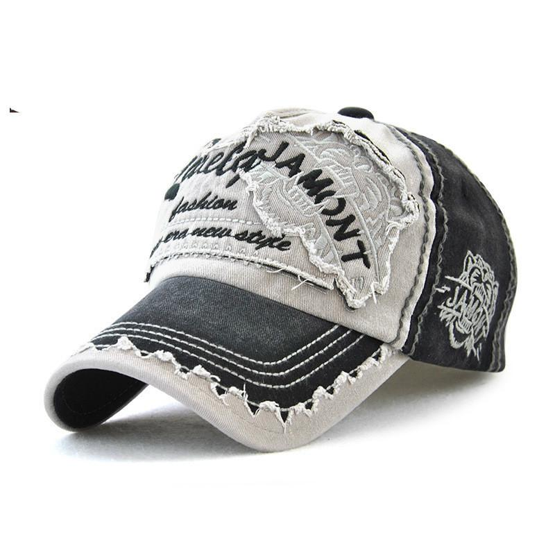 2019 Retro Adjustable Cotton Baseball Cap For Women Men Tiger Embroidery  Unisex Outdoor Sport Casual Hats Dad Trucker Cap From Aanyfeige b518af846b5e
